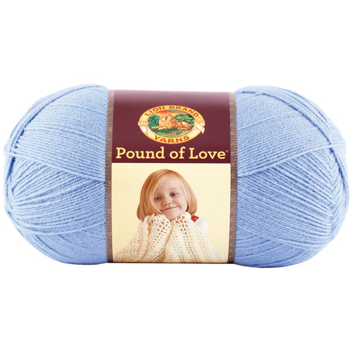 Lion Brand Pound Of Love Baby Yarn-Bluebell
