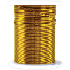 Metallic  & Jewelry Wire 28 Gauge 32'-Gold