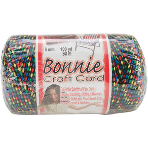 Bonnie Macrame Craft Cord 6mmX100yd-Tiffany