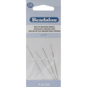 Big Eye  Needles 4/Pkg-2.25""""