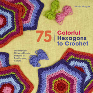St. Martin's Books-Colorful Hexagons To Crochet