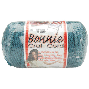 Bonnie Macrame Craft Cord 6mmX100yd-Denim