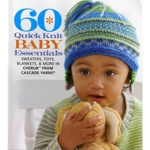 Sixth & Springs Books-60 Quick Knit Baby Essentials