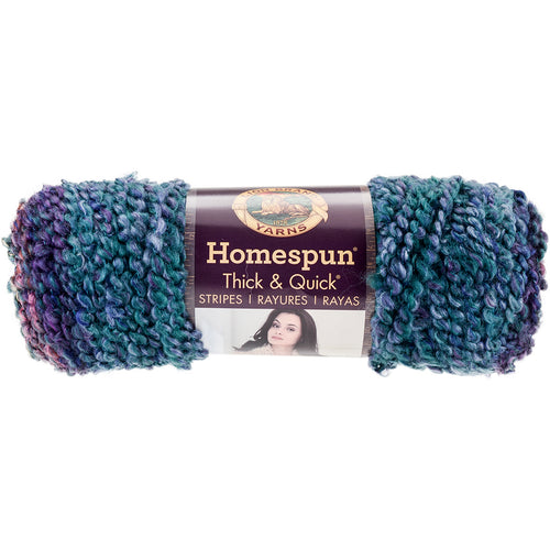 Lion Brand Homespun Thick & Quick Yarn-Celestial Stripes