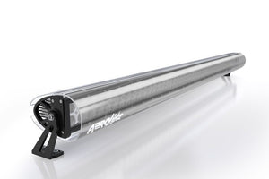 "AeroLidz - 30"" 32"" Smoked Dual Straight High Grade UV Poly-carbonate Light Bar Silencer"