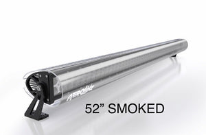 "Aerolidz Light Bar Cover - 50"" 52"" - Smoked - Dual Row"