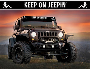 Trucker Girl - Keep on Jeepin