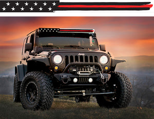 Thin Red Line American Flag Insert