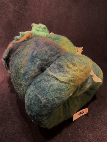Batts - Merino Yak Blend - Seascape #46
