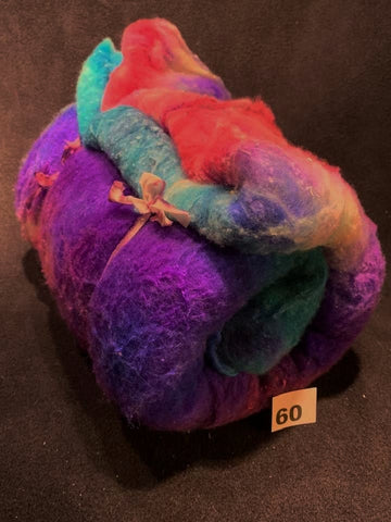Batts - Merino Silk Blend - Blast Off #60