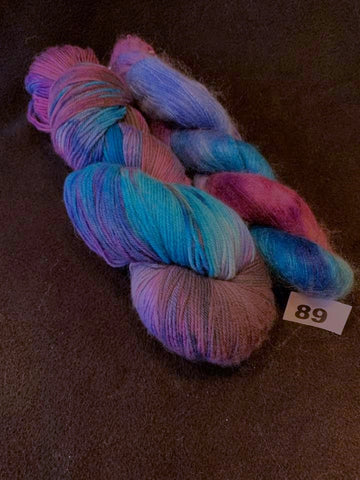 Heathers & Silky Kid - Color: Sky Fall / Blueberries - Special