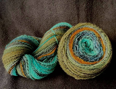Gradient - Fingering - Seascape - 410 yards NEW YARN BASE!