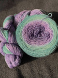 Gradient - Fingering - Lavender Fields - 450 yards