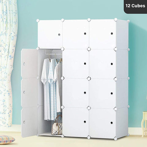 DIY Wardrobe - Milky White