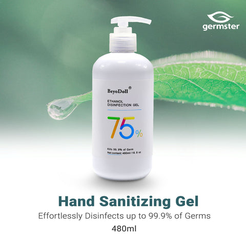 Instant Anti-Bacterial Hand Sanitizer Gel  (480ml)