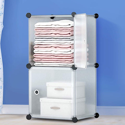 DIY Wardrobe - Transparent White