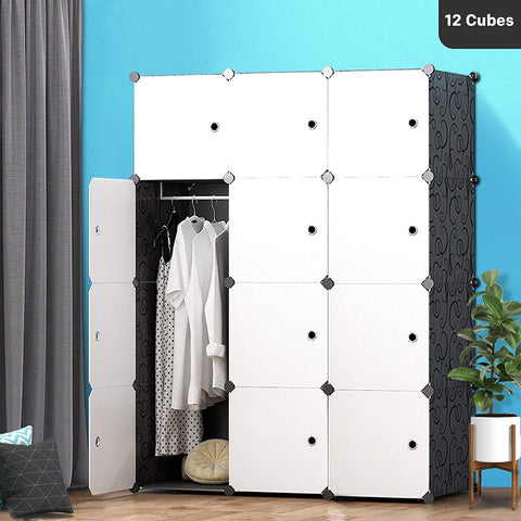 DIY Wardrobe - Pure White
