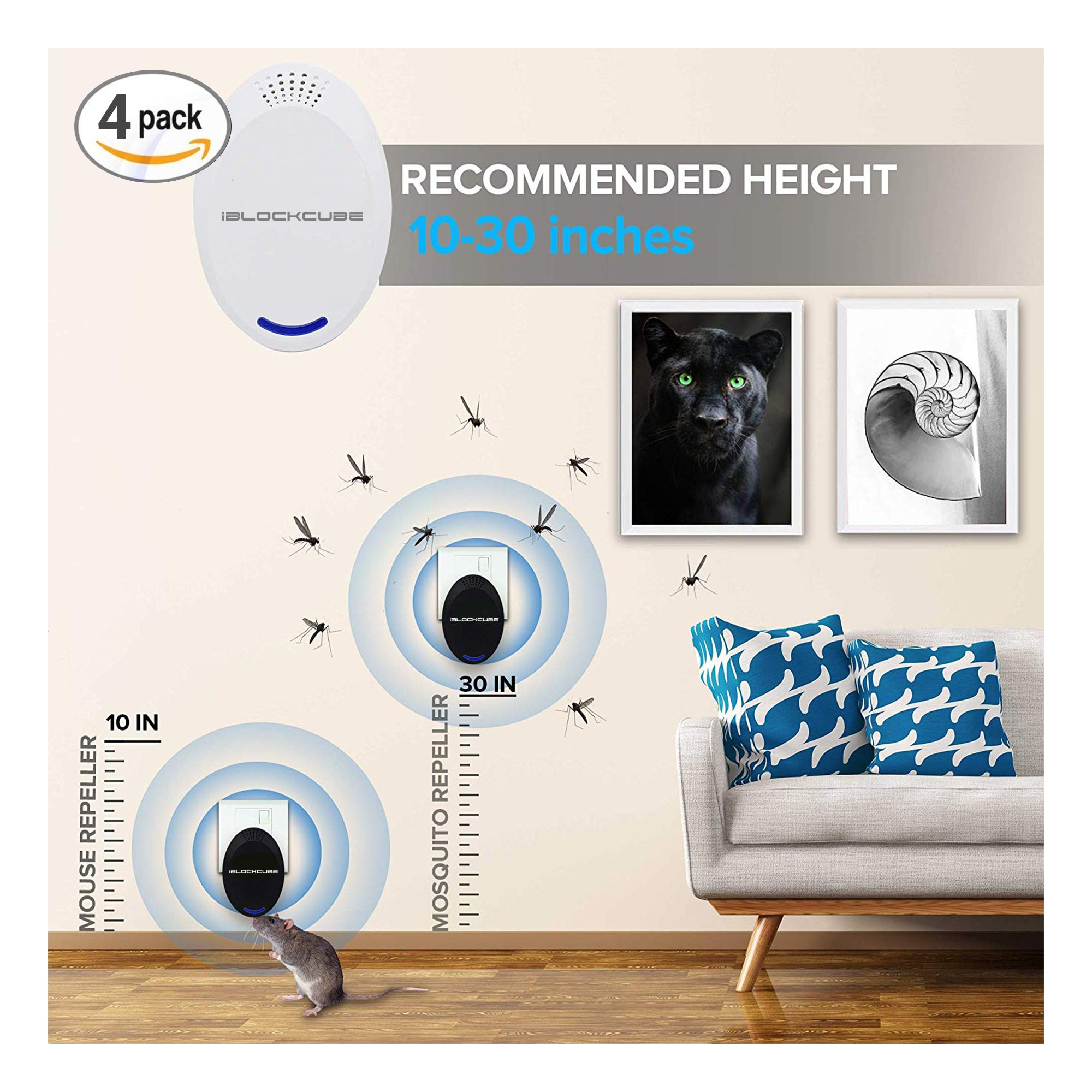 UPR2 - Ultrasonic Pest Repeller