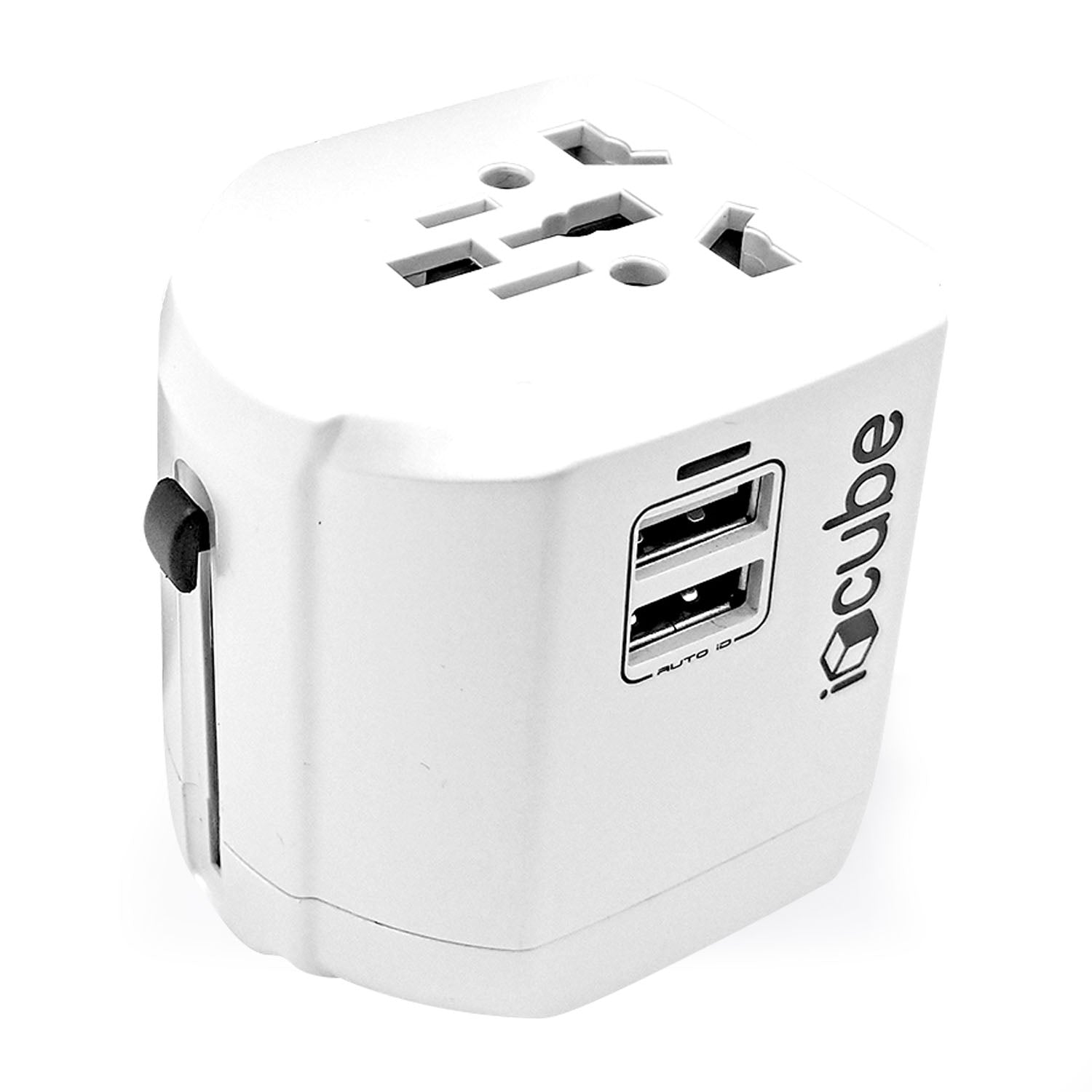 Mate Searcher Travel Adapter - Black