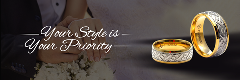 You always want your wedding ring to be the most unexpected and beautiful looking. The elegant looks have to be balanced with a sophisticated overall appearance.