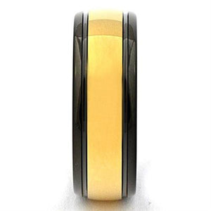 TERRIN Black and Gold Tungsten Ring - Gaboni Jewelers
