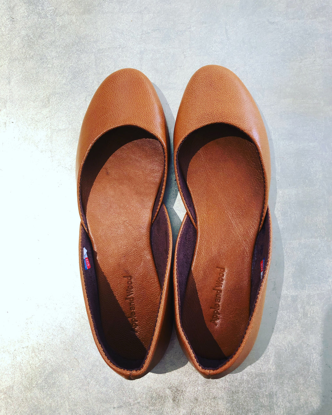 Miette ballet flats in darling pea