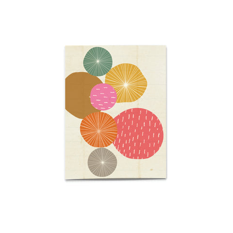 'Pattern Pop' Citrus Card