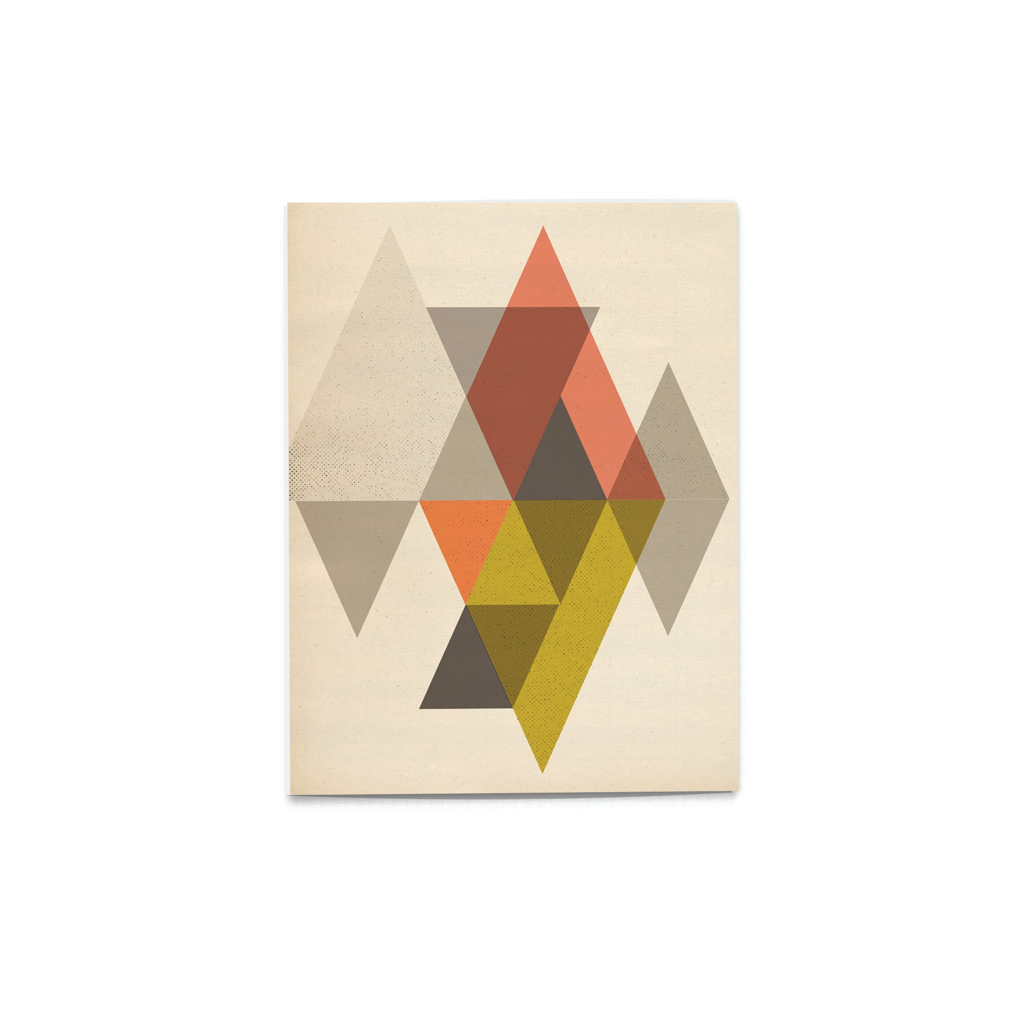 'Pattern Pop' Earthy Diamond Card