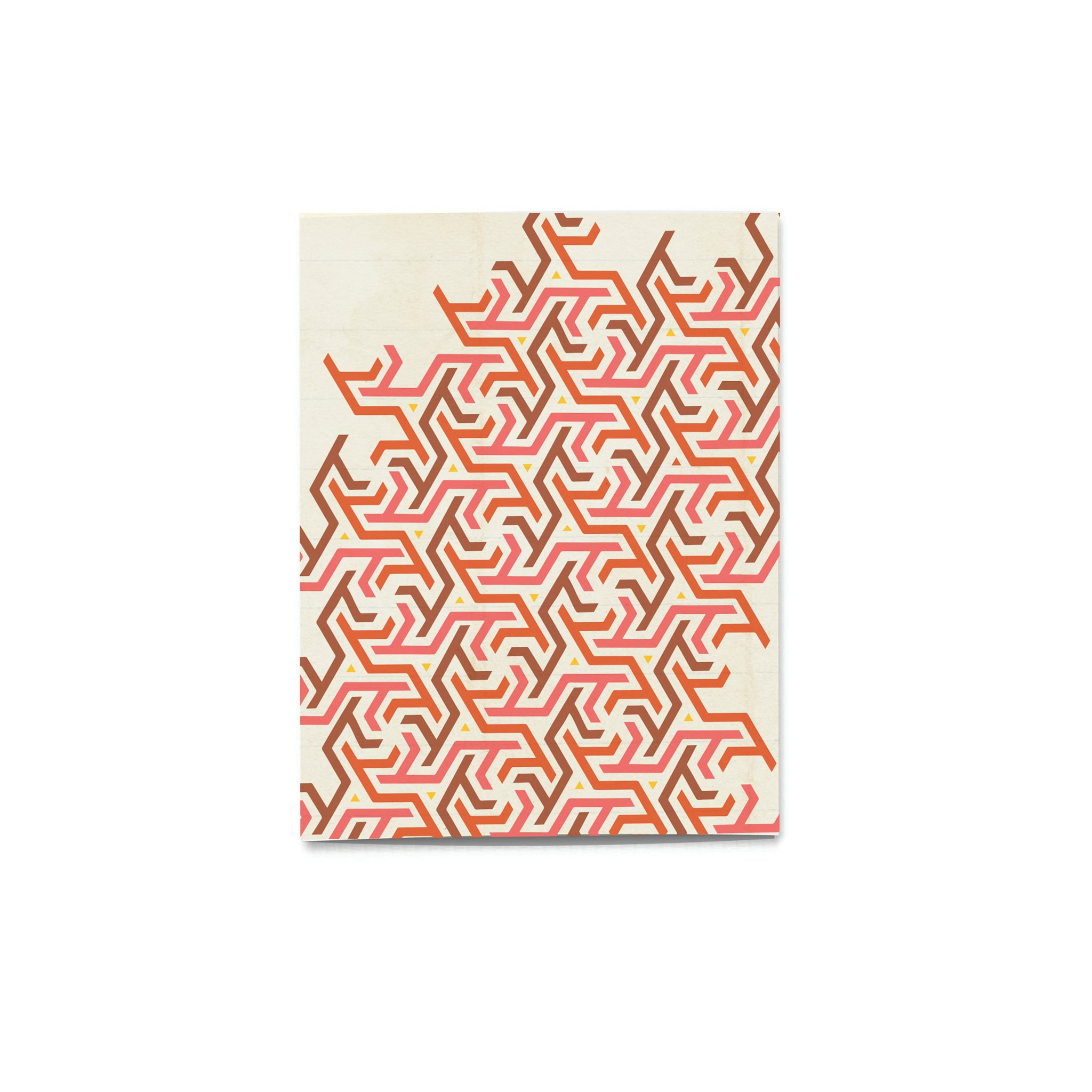 'Pattern Pop' Maze Card