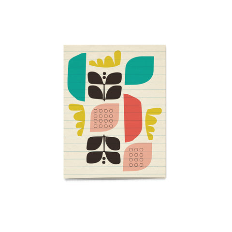 'Pattern Pop' Scandi Card