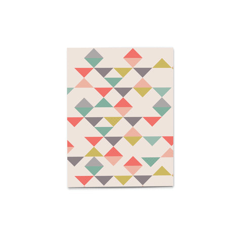 'Pattern Pop' Triangle Mania Card