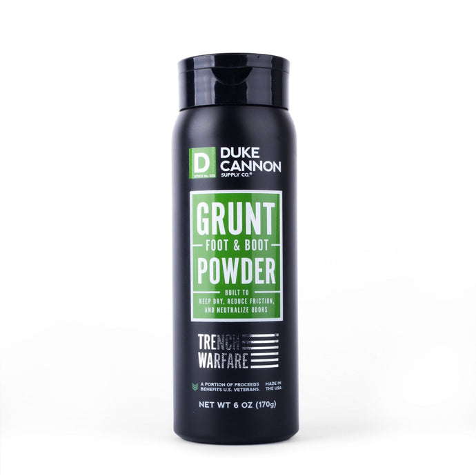 DUKE CANNON GRUNT FOOT & BOOT POWDER