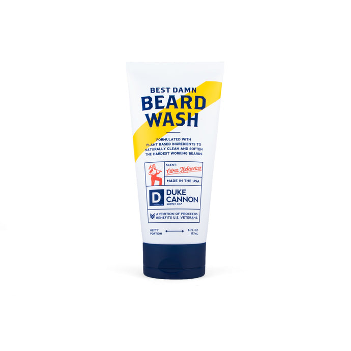 DUKE CANNON BEST DAMN BEARD WASH