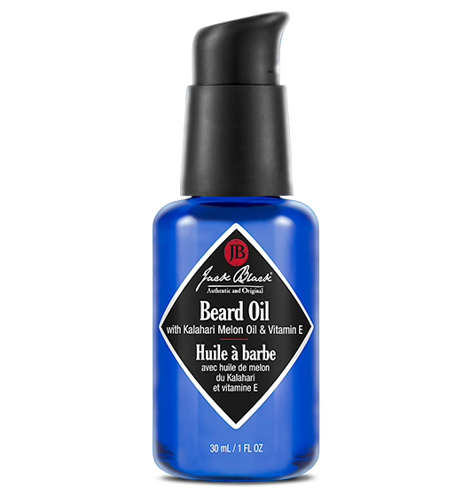 JACK BLACK BEARD OIL with Kalahari Melon Oil & Vitamin E