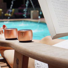 Load image into Gallery viewer, U PRO SPEAKERS ROSE GOLD - 2 PAIRED SPEAKERS WITH MAGNETIC BASE