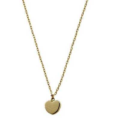 Luka Gold- 14kt Heart Necklace
