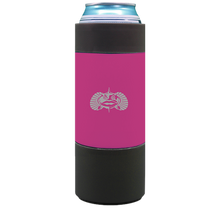 Load image into Gallery viewer, TOADFISH- Pink Non-Tipping Slim Can Cooler