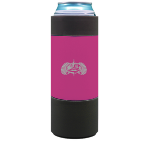 TOADFISH- Pink Non-Tipping Slim Can Cooler