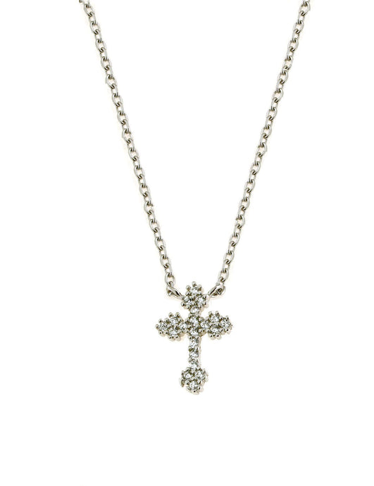 .925 Silver Cross Necklace
