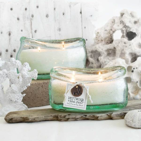 Northern Lights- Driftwood and Sea Salt Candle