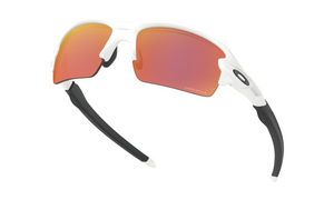 Oakley Flak XS (Youth Fit) in Polished White