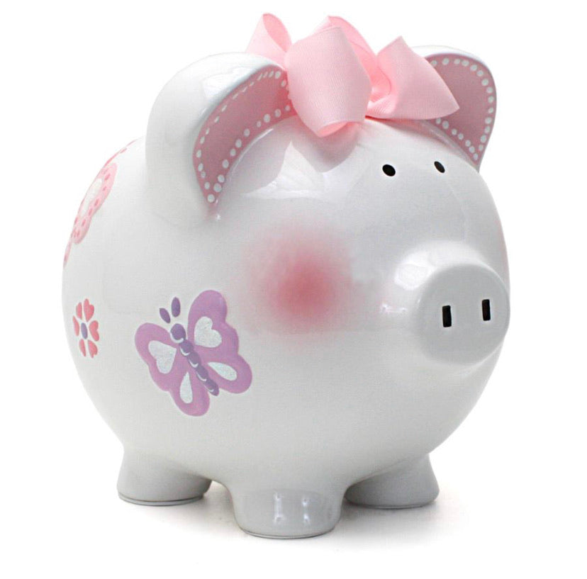 Child To Cherish- Butterfly Piggy Bank