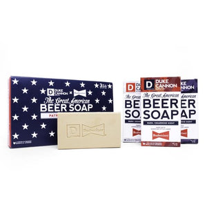 Duke Cannon- The Great American Beer Soap Patriot Collection
