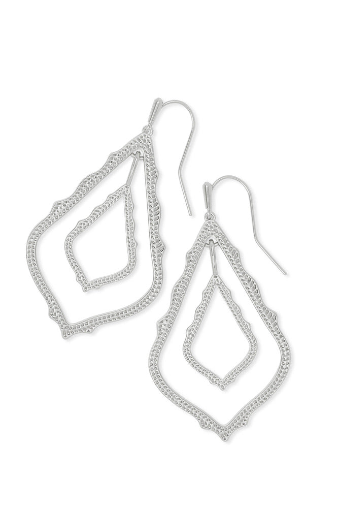 Kendra Scott Simon Earrings in Rhodium