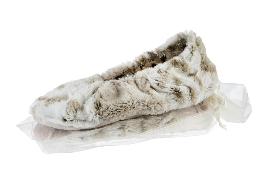 Sonoma Lavender Footies- Arctic Circle Faux Fur