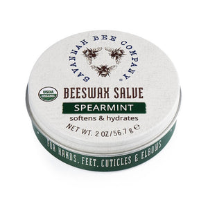 Savannah Bee- Spearmint Beeswax Salve