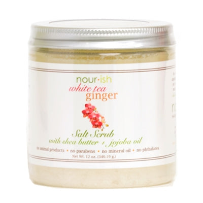 WHITE TEA GINGER LARGE SALT SCRUB