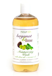 BERGAMOT & LIME MOISTURIZING WASH