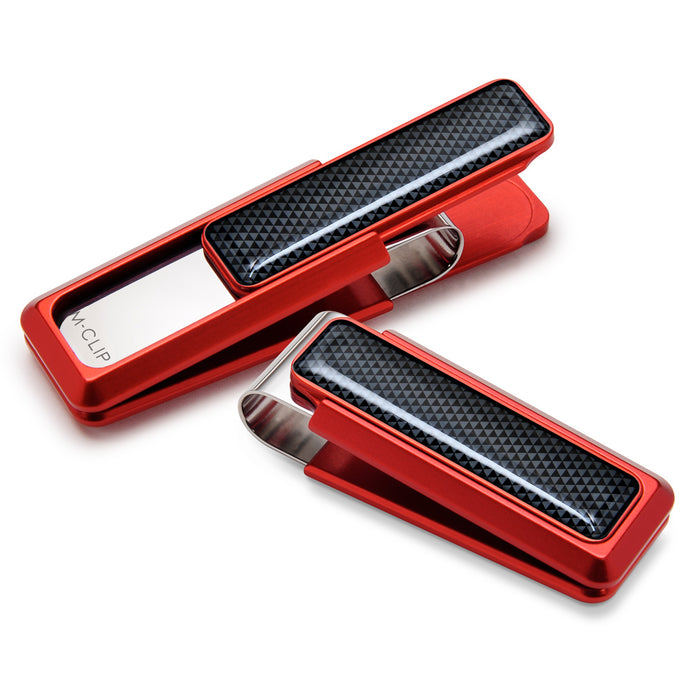 M-CLIP RED ANODIZED MONEY CLIP