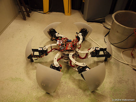 MorpHex: From Sphere to Hexapod and Back – Robot Center Ltd
